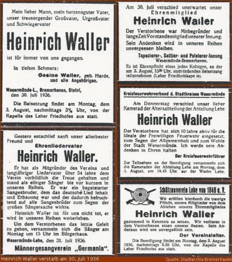 1936 Anzeigen