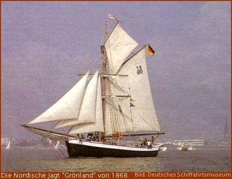 """Windjammer Nordische Jagt """"Groenland"""""""