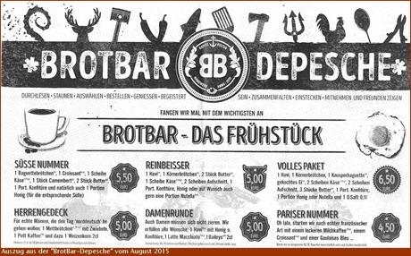 BrotBar-Depesche