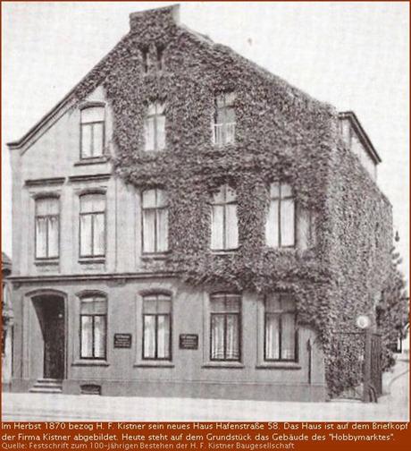 Hafenstraße 52 um 1870