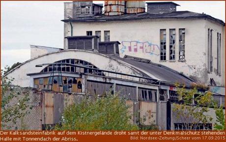 Halle mit Tonnendach