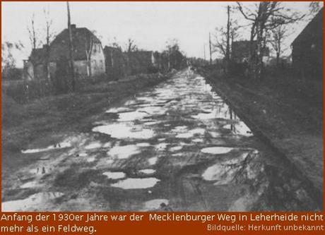 """Projekt """"Stadtteilgeschichte Leherheide"""""""