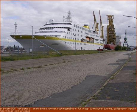 Aus der alten Bananenpier wird eine neue Hafenkaje