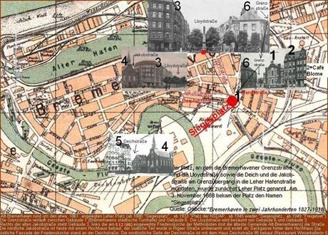 Leher Platz – Siegesplatz – Platz der NSDAP – Siegesplatz –Freigebiet