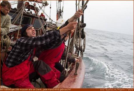 """""""Atyla"""" - Schiff und Crew sind auf dem Weg nach Bilbao"""