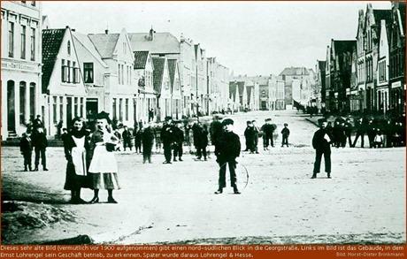 Geestemünde, Georgstrasse, um 1895