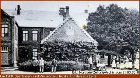 Um 1900 Armen- und Waisenhaus Lehe