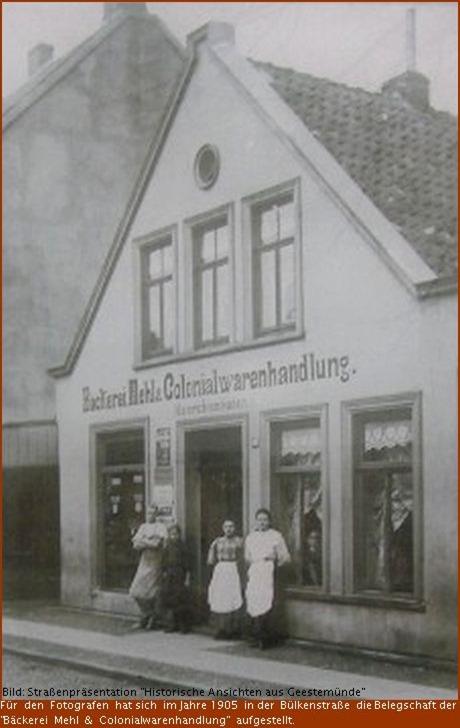 1905 Bäckerei Mehl
