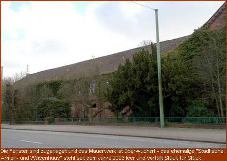 """""""Städtische Waisen- und Armenhaus Lehe"""""""