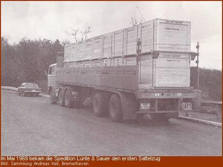 1969 Sattelzug