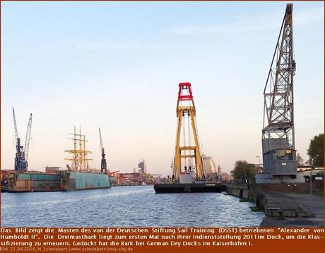 """""""Alexander von Humboldt II"""" liegt im Dock"""