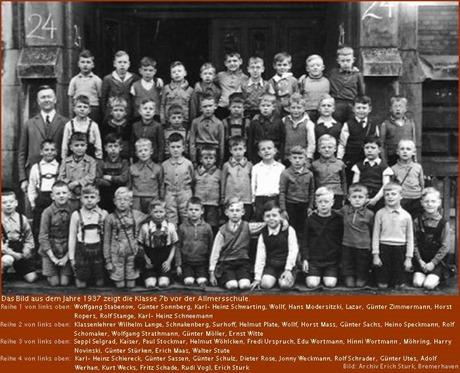 1937 Allmersschule Klassenfoto