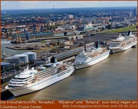 Kreuzfahrtstandort Bremerhaven