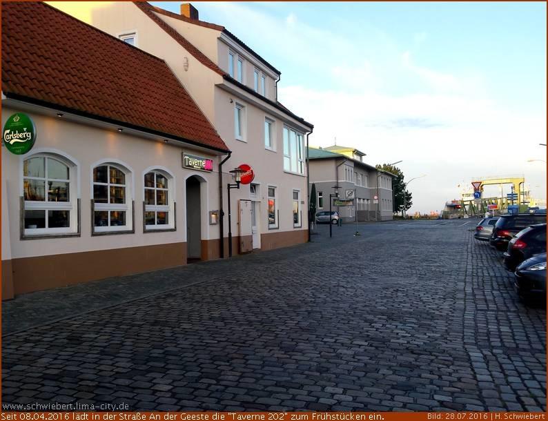 Taverne 202 — Ein neues Lokal an der Geeste –