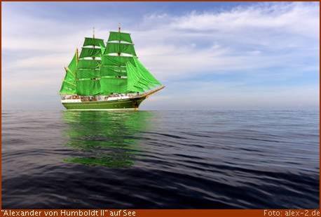 """""""Alexander von Humboldt II"""" hat im Neuen Hafen festgemacht"""