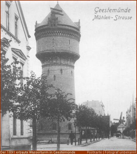 125 Jahre Wasserturm in Geestemünde