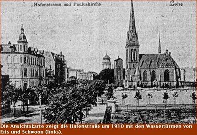 Bremerhaven-Lehe Hafenstrasse um 1910