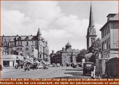 Bremerhaven-Lehe Hafenstrasse um 1950