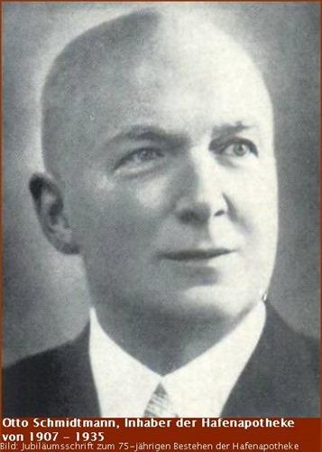 Otto Schmidtmann Inhaber der Hafen-Apotheke
