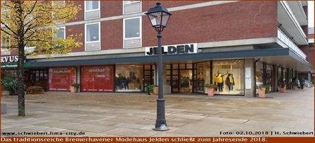 Abschied vom Modehaus Jelden
