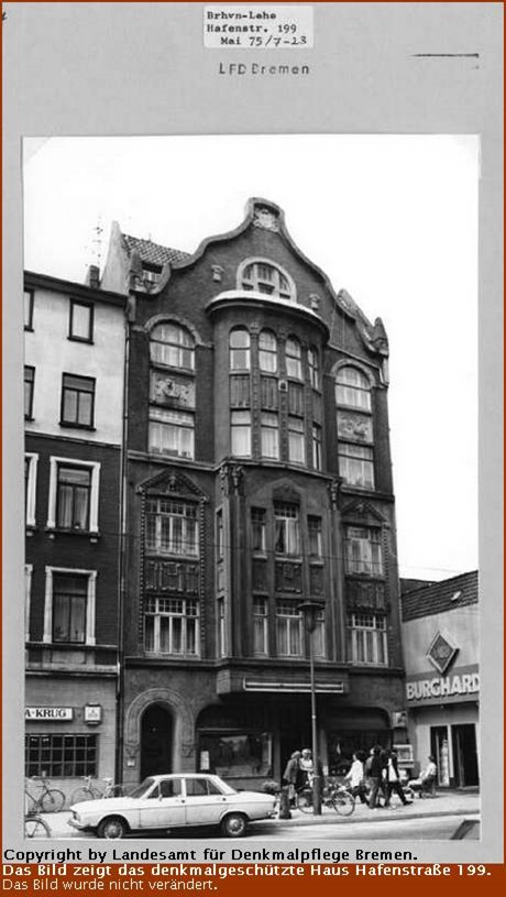 Gruenderzeithaus Hafenstrasse 199
