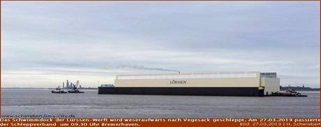 Lürssen-Dock schwimmt wieder