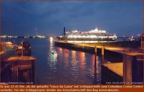 """Taufparty für die """"Vasco da Gama"""""""