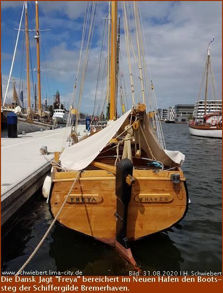 Eine Dansk Jagt für Bremerhavens Schiffergilde