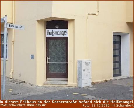 In Bremerhavens Körnerstraße wird nicht mehr gemangelt