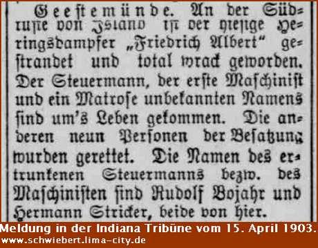 "Heringsdampfers ""Friedrich Albert"""