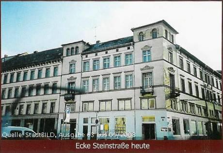 Ecke Steinstraße Kürschnerfamilie Thorer