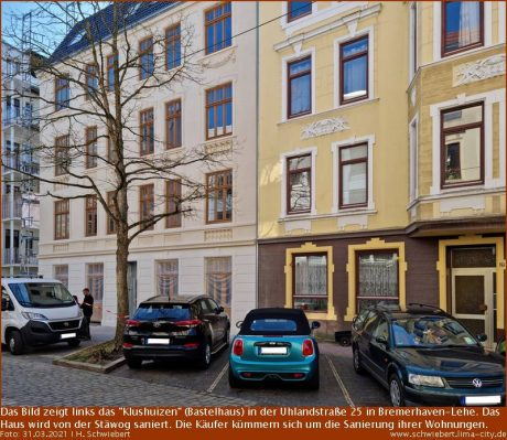 """Klushuizen"" in der Uhlandstraße 25"