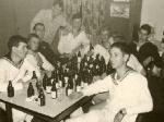 1967 waren die Stuben mit acht Soldaten belegt.