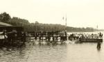 Das Bootshaus mit Anleger